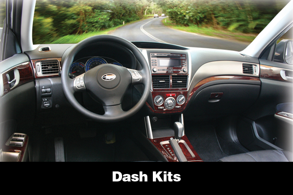 Shown is a Dash Kit for a Subaru Forester