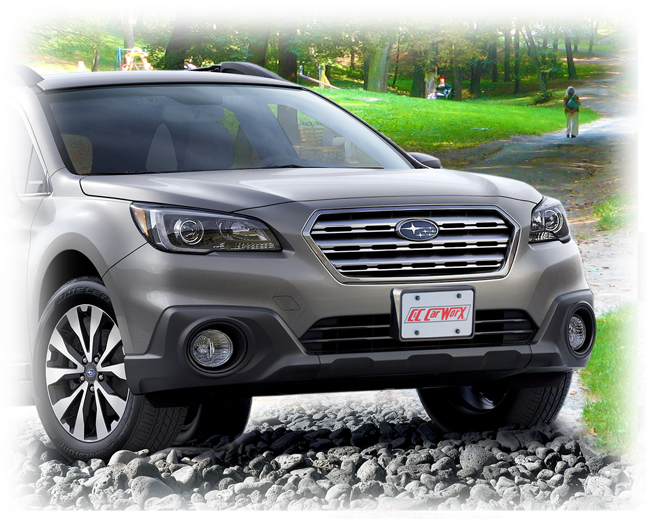 Front Lic Bracket By C Amp C Carworx To Fit 2015 16 17 Subaru