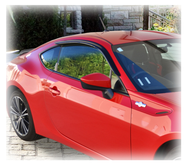 ... Vent Visors Window Deflectors Rain Guards for 2004-2009 Mazda 3 Sedan