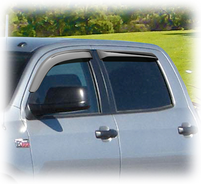 Window Visor For 2005-2007 2008 2009 2010 2011 2012 2013 2014 2015 Toyota Tacoma
