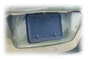 Universal Rear License Plate Bracket by C&C CarWorx