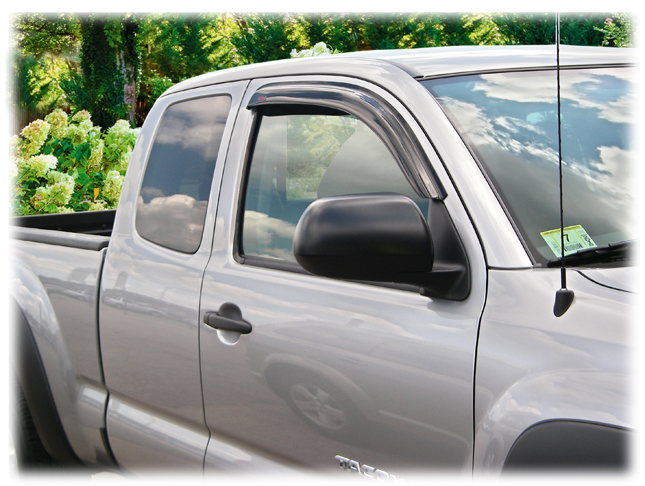 Tape On Window Visors Rain Guards Shades Wind Weather