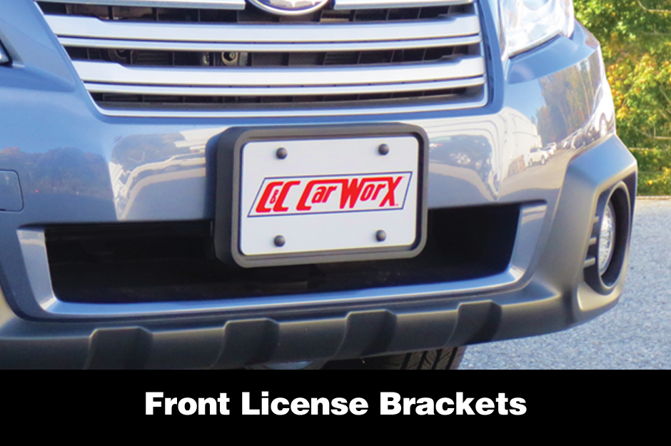 C&C_CarWorx_Front_License_Brackets
